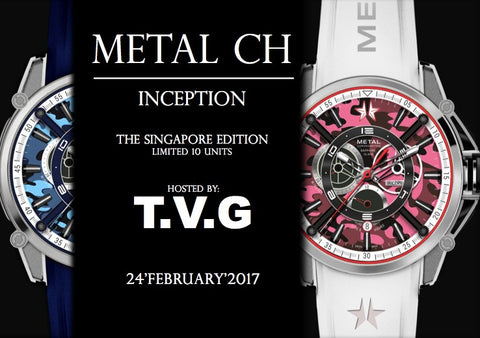 Metal CH. 10 Piece Singapore Special Edition