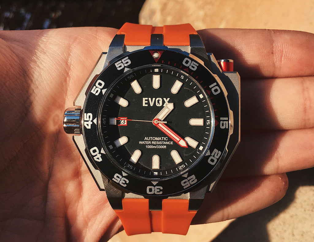 Boldest Diver Watch by Evox!