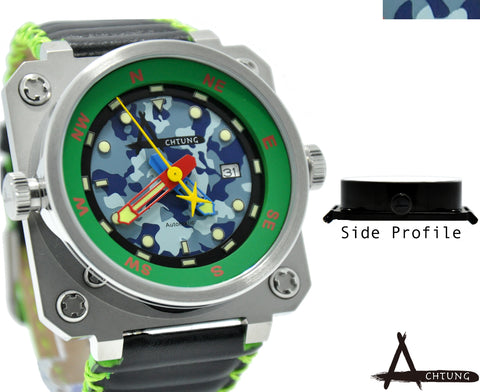 Achtung Camo series/ Green