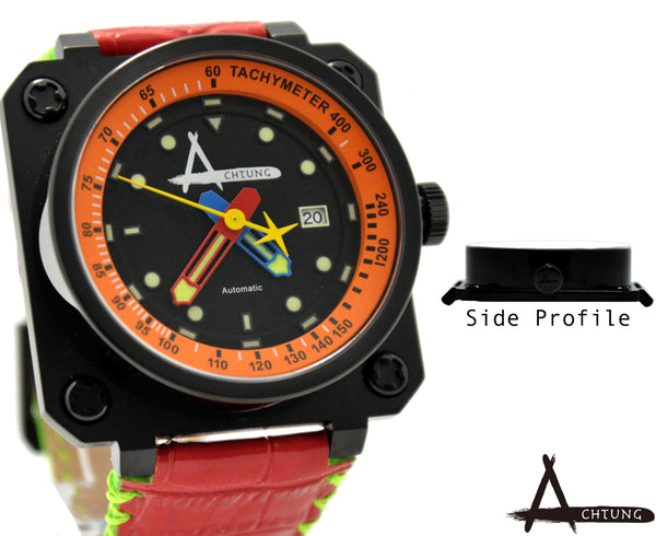 Achtung Classic series/ Black and orange