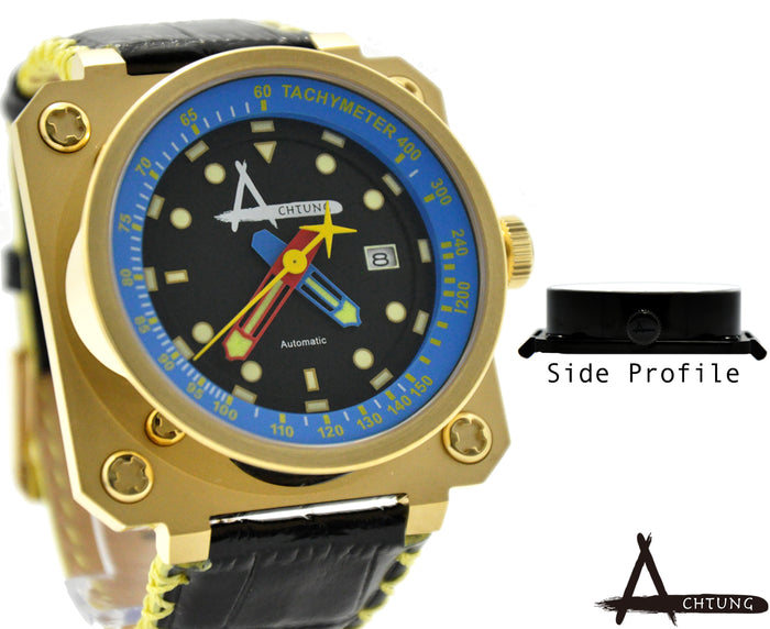 Achtung Classic series/ Gold and Blue