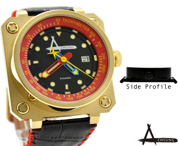 Achtung Classic series/ Gold and Red