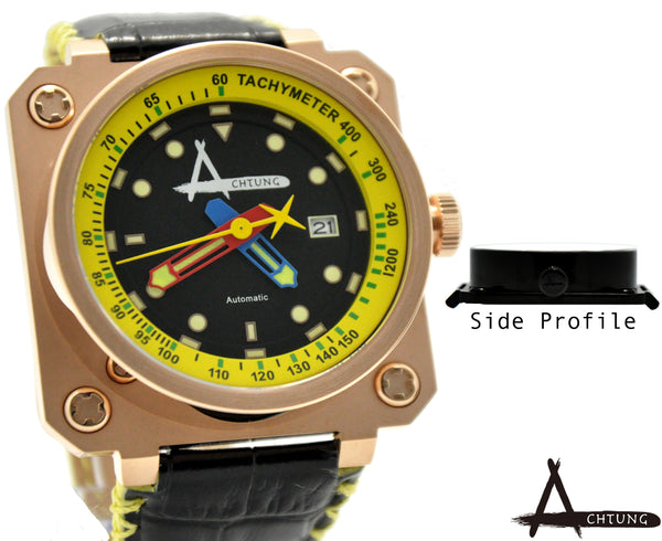 Achtung Classic series/ Rose Gold and Yellow