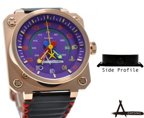 Achtung Speedo series/ Rose Gold and Black