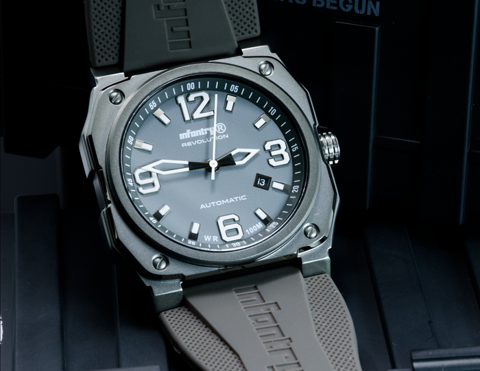 Infantry Revolution Auto-Pilot Series / Cool Grey