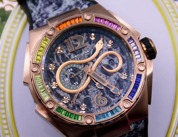 NSQUARE Rainbow Rose Gold