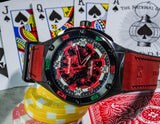NSQUARE CASINO ROYALE / Red & Black