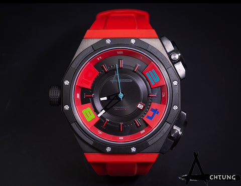 Achtung Shuttle / Red and Black