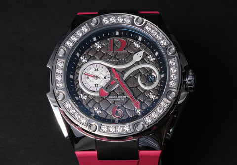 Nsquare Snake Queen 39mm Cherry Red
