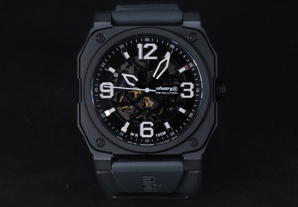 Infantry Revolution Skeleton Series / Black