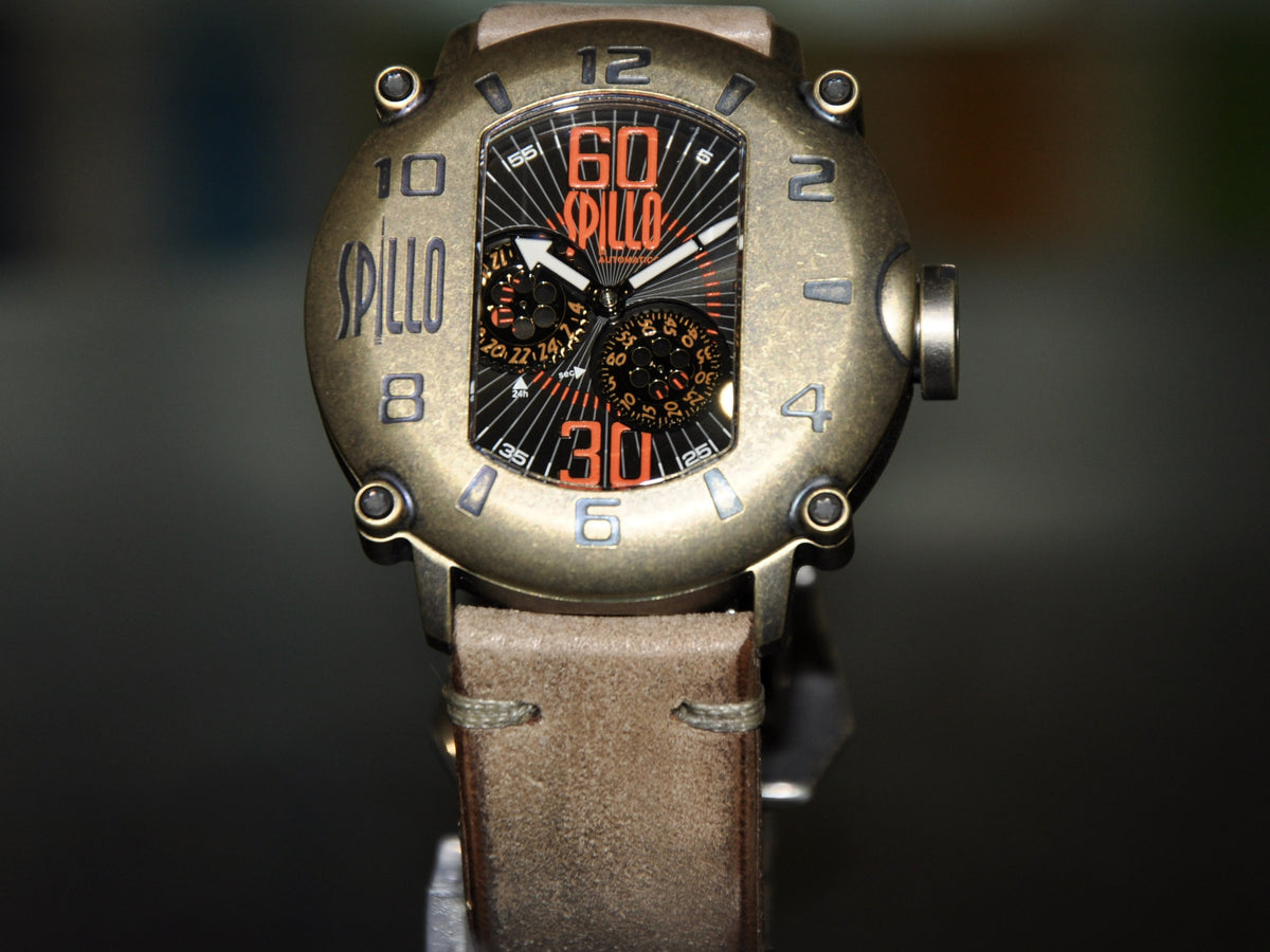 Spillo Speed Demon/ Bronze and Orange