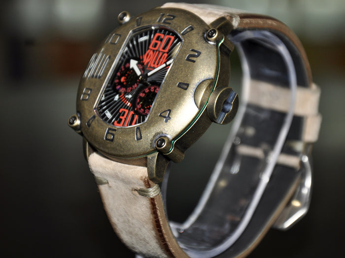 Spillo Speed Demon/ Bronze and Red