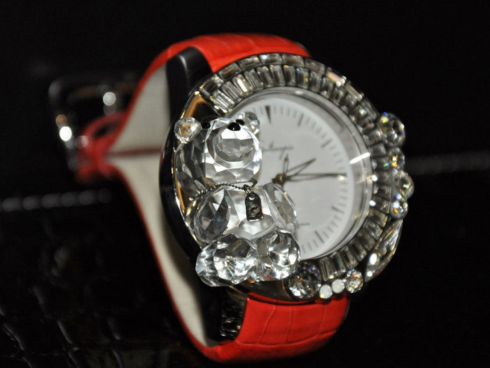 Galtiscopio Darmi Un Abbraccio II series/ Teddy with Red leather strap