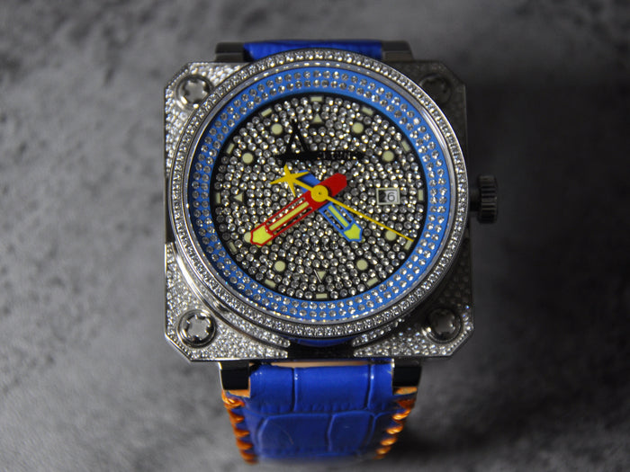 Achtung Classic Pave series/ Blue