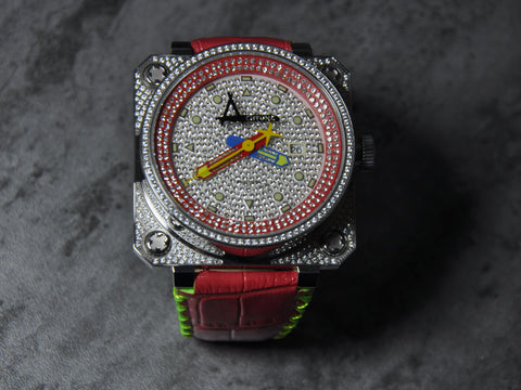 Achtung Classic Pave series/ Red