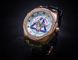 Nsquare The Bull Skull/ Rose Gold and Crystal Limited Edition