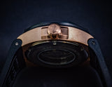 Nsquare The Bull Skull/ Rose Gold and Black