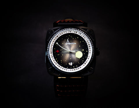 Achtung Galaxy / Crystal Black