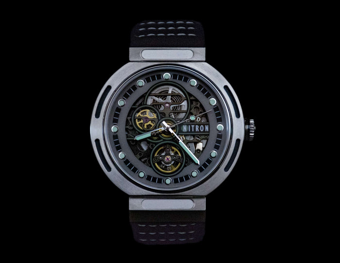 Nitron Skelette Stainless Steel / Grey