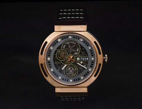 Nitron Skelette Rose Gold / Grey