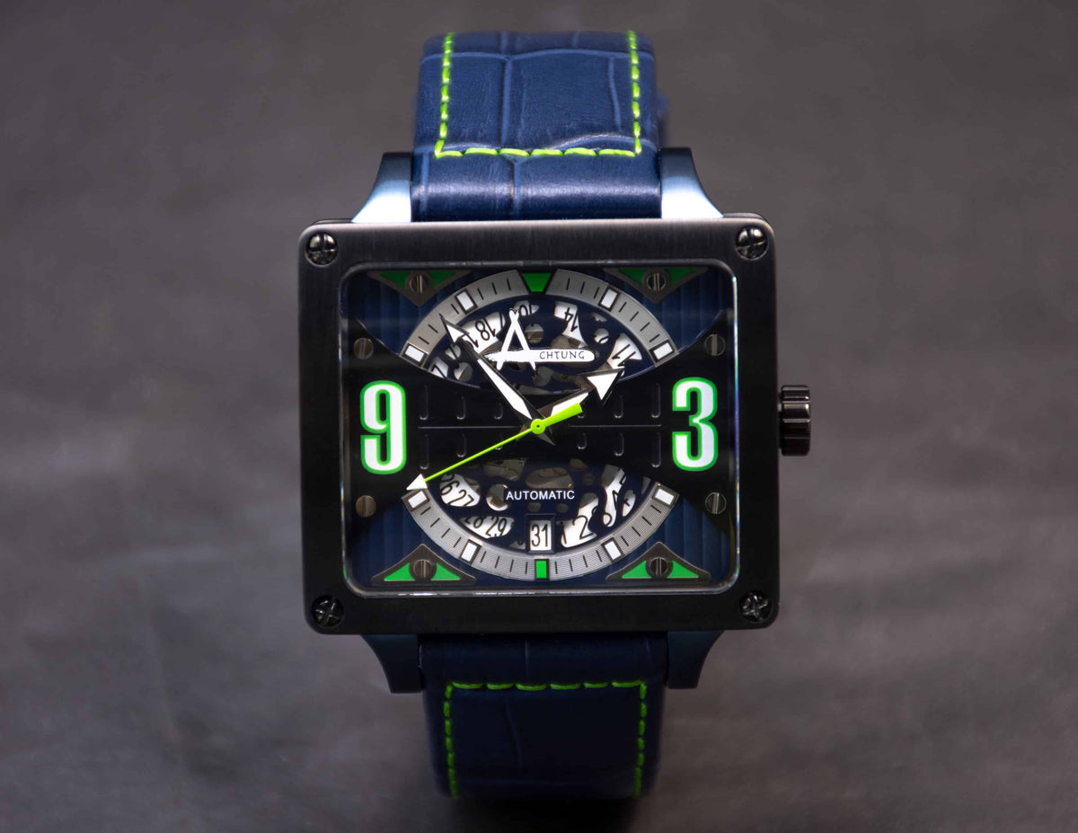 Achtung Timebox Black / Blue