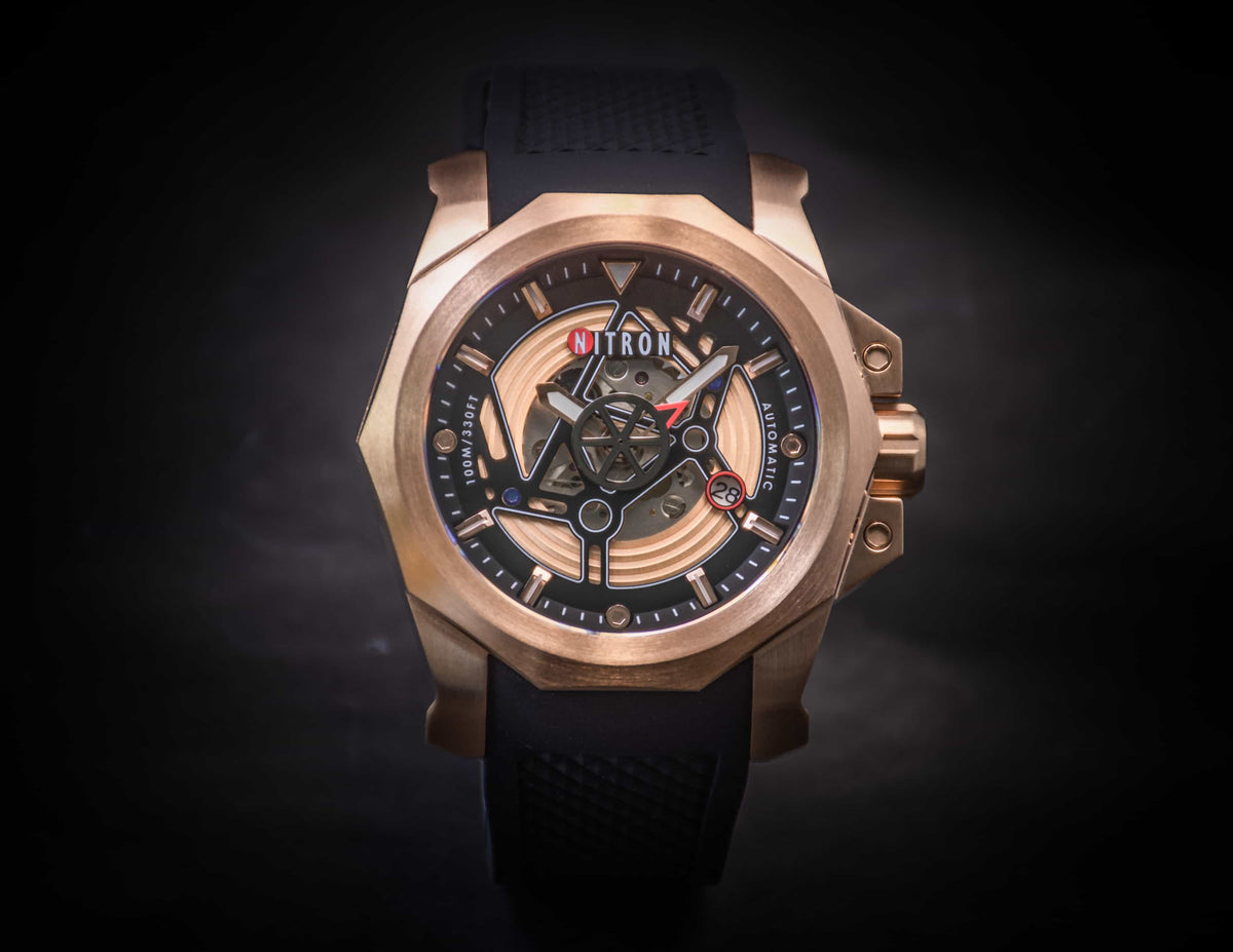 Nitron Circuit Rose Gold