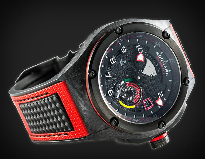 NSQUARE Racermatic Red/Black