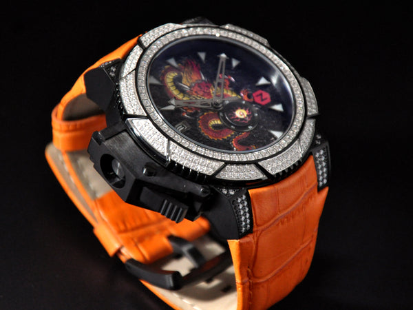 Zoid Dragon Swarovski/ Orange
