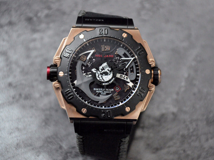 Nsquare Pirate Storm/ Black and Rose Gold