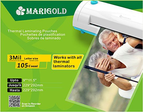 Laminator Film Sheets for Laminator Machine (LP3LTR10)