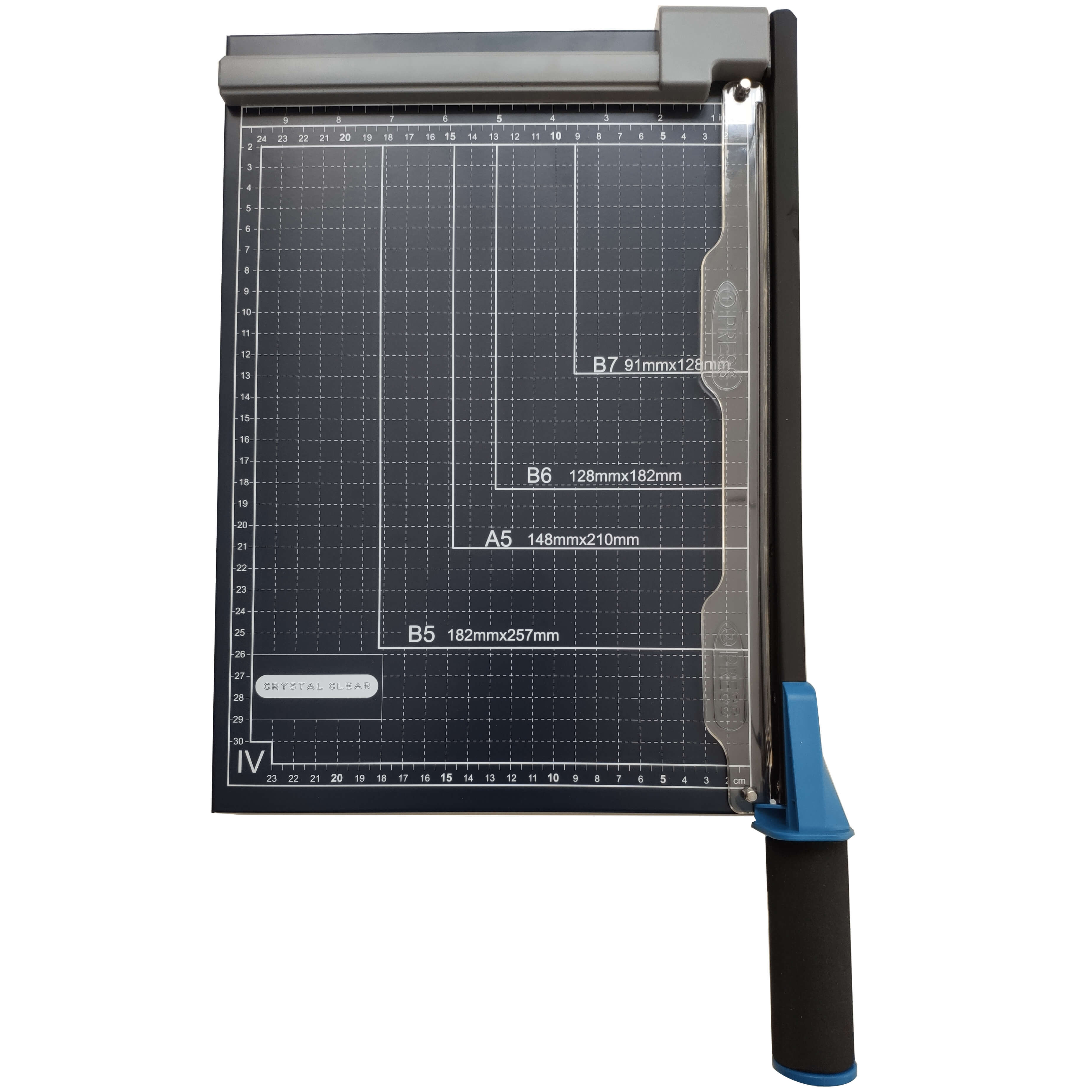 Crystal Clear 12-inch Paper Cutter