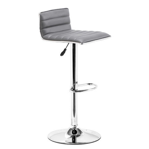 Zuo 300220 Equation Barstool Gray - ZModernStore - 1