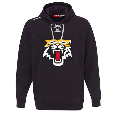 CCM Team Fleece Hoody - Aurora Tigers ADULT