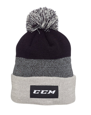 CCM Team Fleece Pom Knit Toque - Aurora Tigers