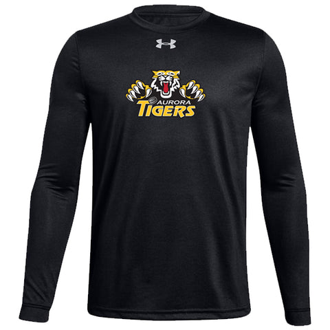 Under Armour Long Sleeve T - Aurora Tigers YOUTH