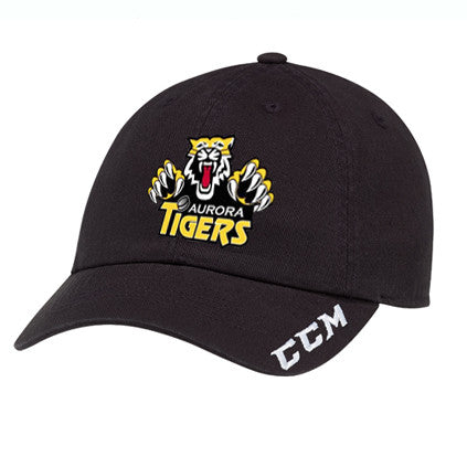CCM Adjustable Cap - Aurora Tigers