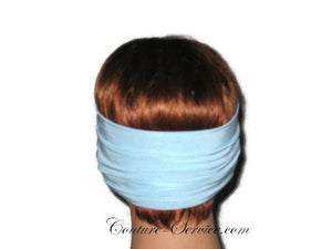 Handmade Blue Knot Headband Turban, Powder - Couture Service  - 3