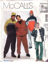 McCall's 9640, Unisex Jacket, Top, Pants, and Hat, Size M - Couture Service  - 1