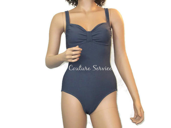 Handmade Pebble Grey, One Piece Swimwear