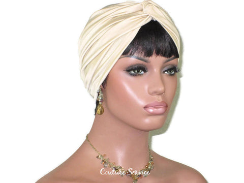 Handmade Tan Twist Turban