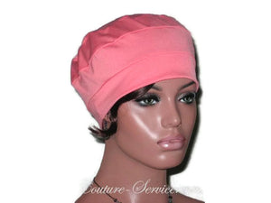 Handmade Coral Cap Turban - Couture Service  - 5