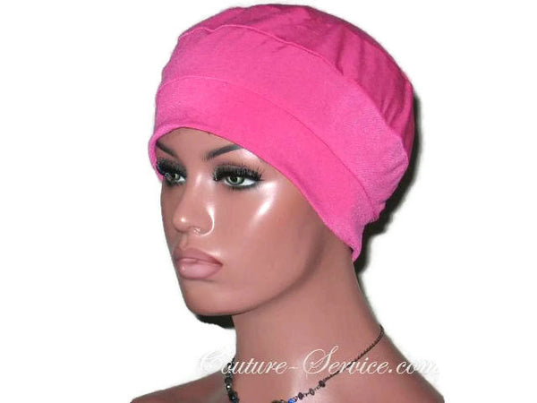 Handmade Pink Cap Turban - Couture Service  - 5
