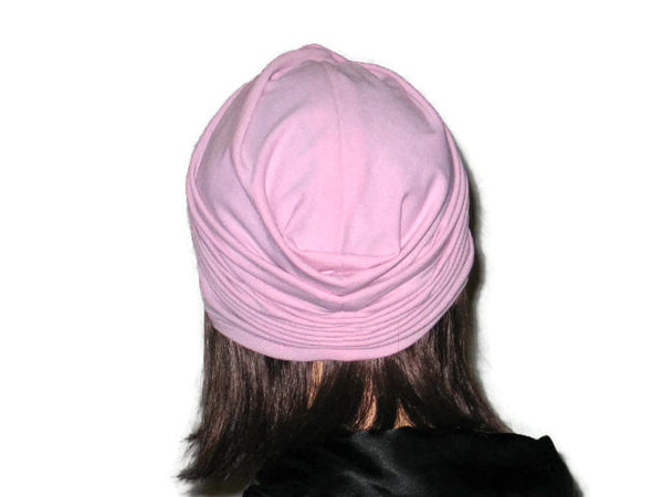 Handmade Pink Twist Turban, Rose - Couture Service  - 3