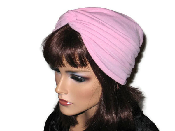 Handmade Pink Twist Turban, Rose - Couture Service  - 4