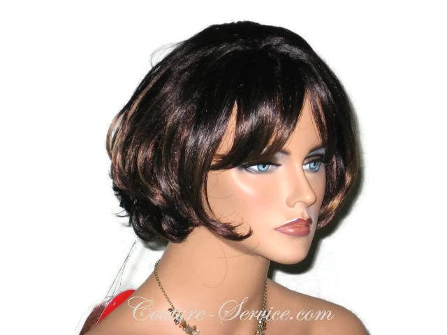 Mannequin Display Wig, Brown - Couture Service  - 4