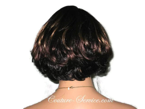 Mannequin Display Wig, Brown - Couture Service  - 3