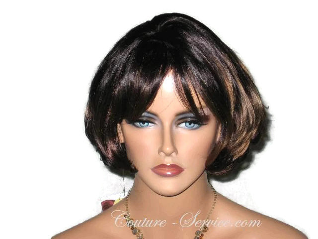 Mannequin Display Wig, Brown - Couture Service  - 1