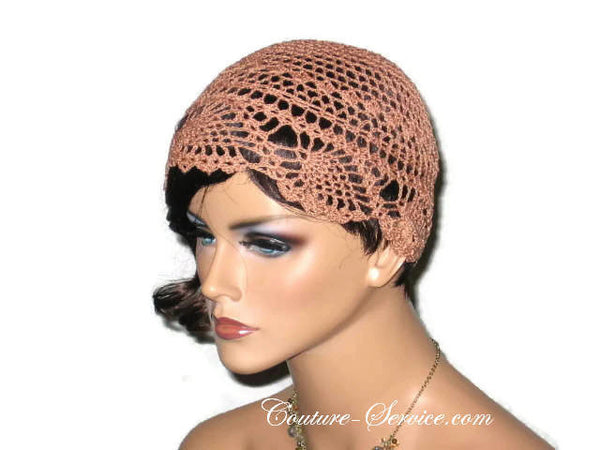 Handmade Copper Pineapple Lace Cloche - Couture Service  - 2