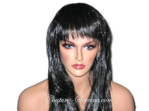 Mannequin Display Wig, Black - Couture Service