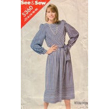 Vintage Butterick 5360, Pullover Dress, Size 14 - 18 - Couture Service  - 1